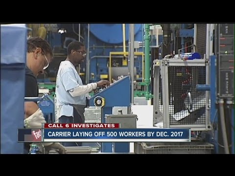 Carrier laying off 500 workers by end of 2017