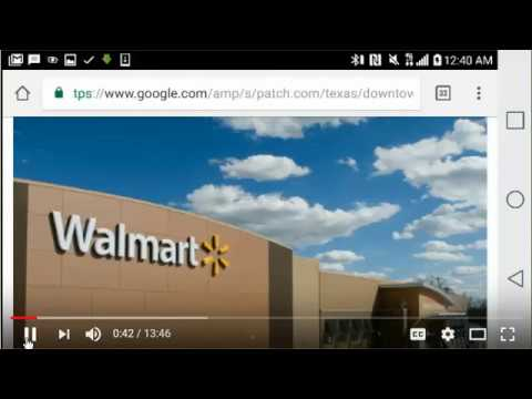 Houston Evacuees Brought To ... Walmart? Remember Walmart Closing Stores Due To Plumbing Problems?