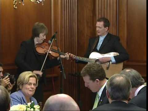 Liz Carroll and John Doyle Perform for President Obama ~ St. Patrick's Day 2009