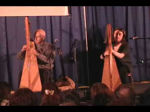 Grainne Hambly & William Jackson ~ Harp Duet ~ Elizabeth Kelly's Favourite