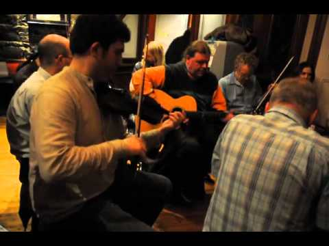Traditional Irish music session, The Western Hotel, Galway, Ireland