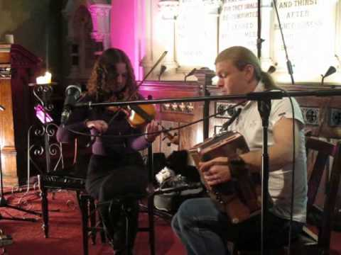 Michelle O'Brien and Peter Browne at Steeple Sessions 2011