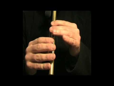 Gallaghers Frolics 1 (Slow) - Tin Whistle Tutorial - Tradschool