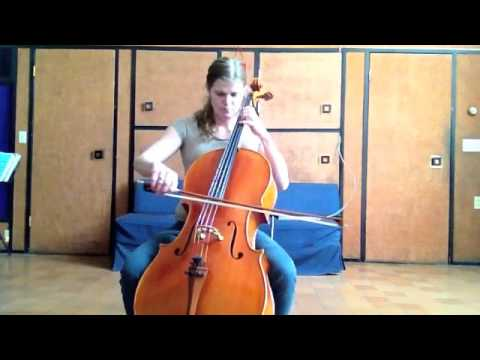 With Ourselves - New Tune a Day - (Irish Cello)