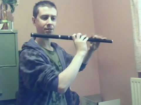 Trad Flute Tutorial Enda Seery-Paddy Fahy's (jig)
