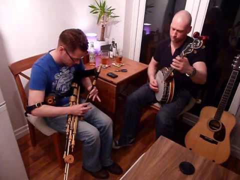Reels on Uilleann Pipes and Tenor Banjo # 2