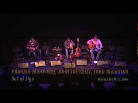 Padraig McGovern, John Joe Kelly, John McCartin - Clip 1: Traditional Irish Music from LiveTrad.com
