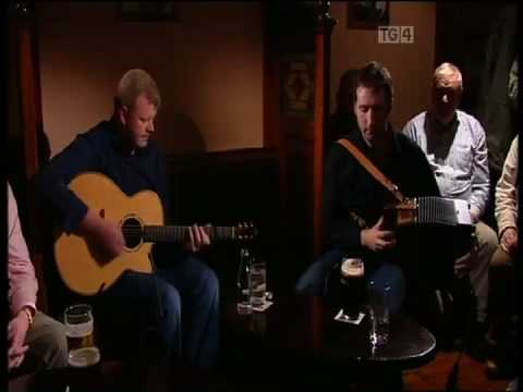 John McCartin and Tommie Cunniffe Play Geantrai Signature Theme, Leitrim Irish Guitar DADGAD