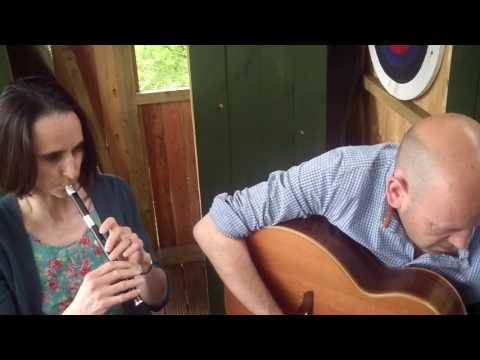 Tin Whistle & Guitar : Clare Trevitt & Brian Gilmer  Whiby Folk Week #Tunesday