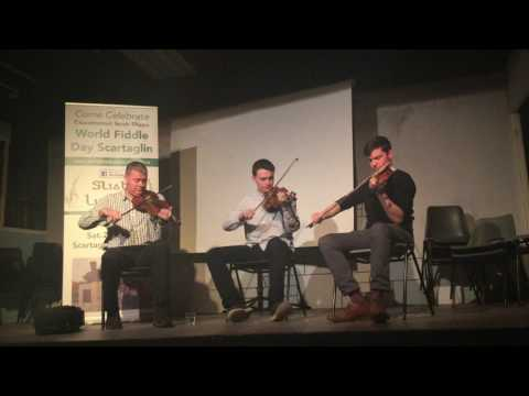 Con Moynihan, Andrea Palandri, Aidan Connolly at Handed Down Scartaglin