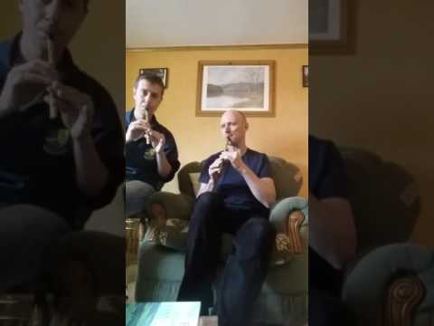 Enda Seery Ireland & Olaf Sickmann Germany whistle duet jig