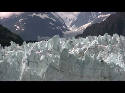 Kathy Slamp Narrates at Hubbard Glacier