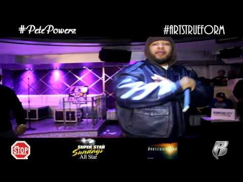 Dec 1st NonStop Entertainment Presents - PETE POWERZ (Special Feature Performance) SuperStar Sundays Dec 1st