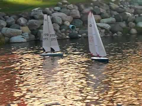 ODOM r/c Model Sailboats  Minnesota USA