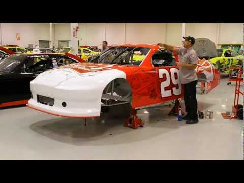 RCR Budweiser Car - Wrapped in 60 Seconds