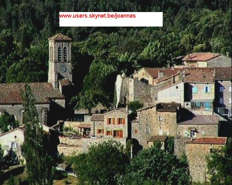 zicht op dorp Joannas
