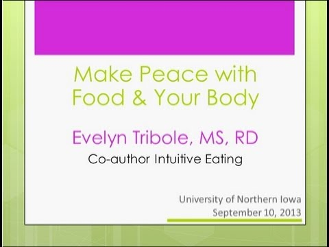 How to Make Peace with Food & Your Body: Intuitive Eating