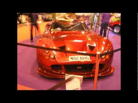 TVR Display at the Classic Car Show