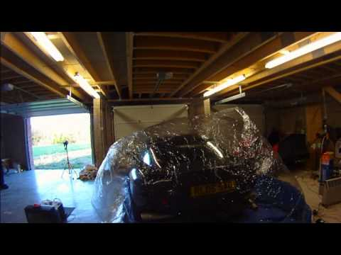 An Inflatable Car Storage Pod