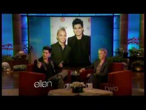 Adam Lambert interview on Ellen 01.19.12
