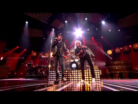 Queen and Adam Lambert - Somebody To Love - X Factor UK,30 11 2014