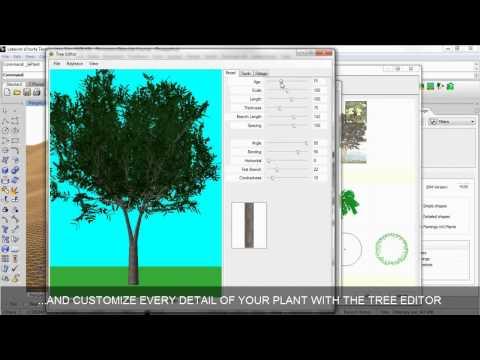 Insert plants from plant database