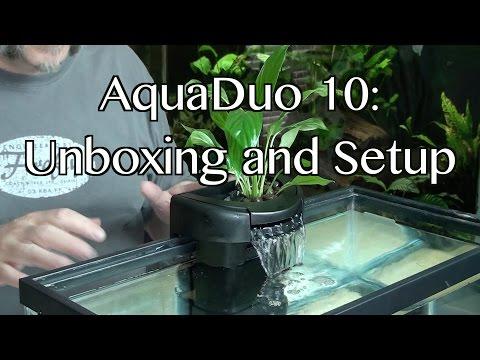 AquaDuo10 : Unboxing and Setup