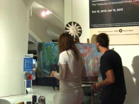 Milwaukee Art Museum After Dark time lapse
