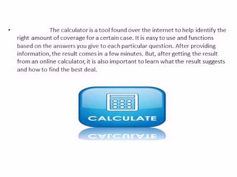 The Importance Of A Life Insurance Calculator