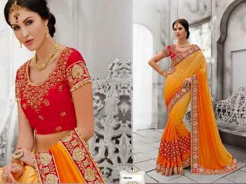 Best Collection Of Wedding Saree