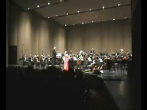 """Denise Brennan -sings """"Mary of Dungloe"""" Arranged by Vincent Kennedy. Conducted by Colman Pierce"""