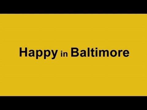 Pharrell Williams HAPPY - We are also HAPPY in Baltimore, Ireland