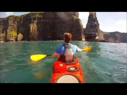 Cliffs of Moher - Sea Kayaking