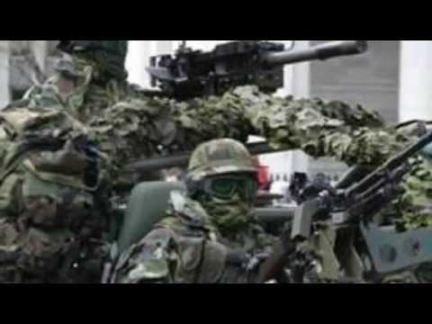 Irish Army Special Forces. The Army Ranger Wing.