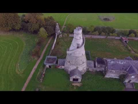 Ireland drone footage Wonderful Barn Kildare  Fly-by Shooting