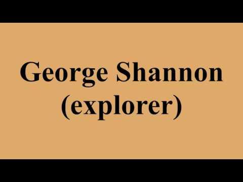 George Shannon (explorer)