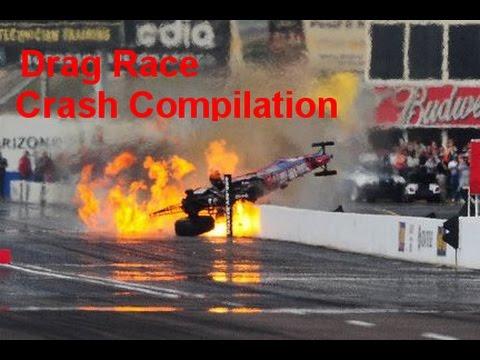 NEW DRAG RACE CRASH COMPILATION 2016