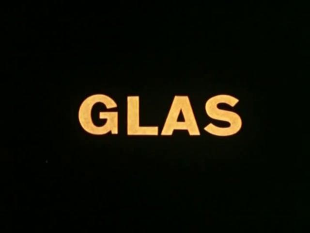 Glas (1958)- Bert Haanstra