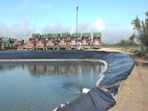 Frack Oil Well
