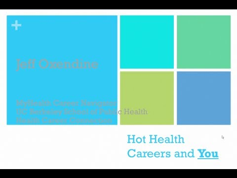 MyHCN Webinar: Hot Health Careers with Jeff Oxendine