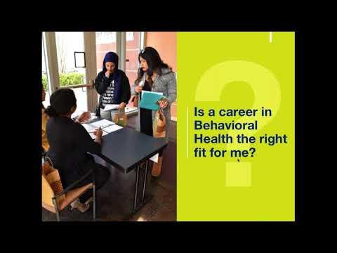 Careers in Behavioral Health