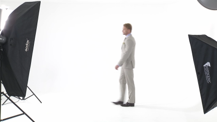 Custom Tailored Mens Beige Grey Suit
