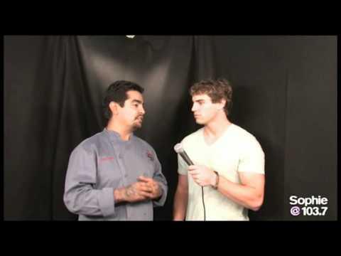 Aaron Sanchez Interview with Sophie @103.7 in San Diego