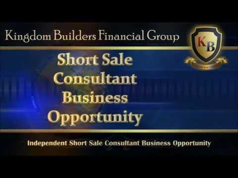 Kingdom Builders Financial Group Short Sale Presentation