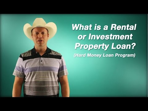 What Is a Rental or Investment Property Hard Money Loan?
