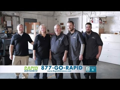 RapidAdvance Business Loans TV Commercial - Helping Small Businesses Grow!