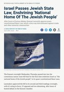 (((They))) demonize any consideration of Y (eg, nationalism), even while practicing Y inside Israel.