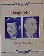 John F Kennedy signed inaugural ball menu