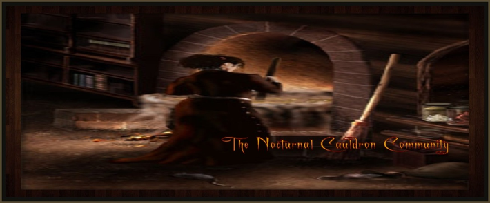 The Nocturnal Cauldron Logo