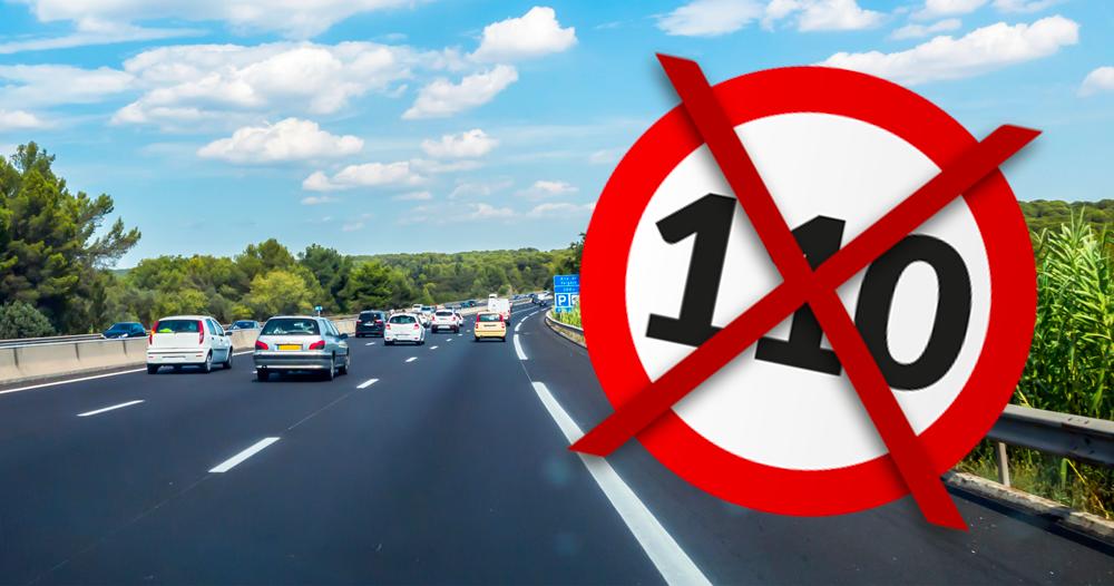 Bientôt 110km/h sur les autoroutes ?